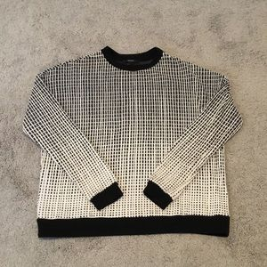 Forever 21 Gradient Crewneck Sweater sz Small